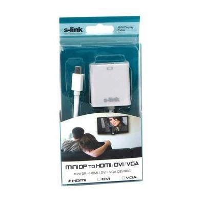S-Link Sl-md75 Mini Display To Hdmı 15cm 15cm Çevirici Adaptör