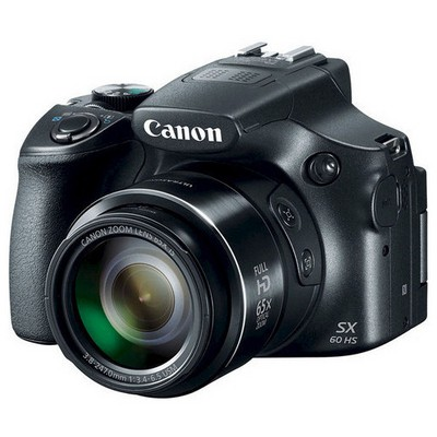 "Canon PowerShot SX60 HS 16.1 Mp 65x Optik 3"" Lcd Full Hd WiFi Dijital Kompakt Fotoğraf Makinesi"