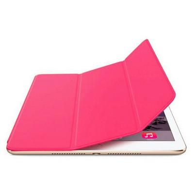 Microsonic Akıllı Uyku Modlu Smart Cover Ipad Air 2 Kılıf Pembe Tablet Kılıfı