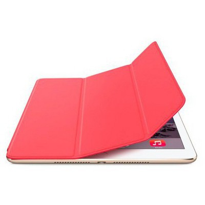Microsonic Akıllı Uyku Modlu Smart Cover Ipad Air 2 Kılıf Kırmızı Tablet Kılıfı