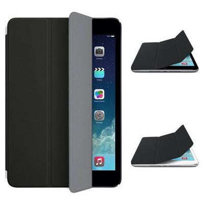 Microsonic Akıllı Uyku Modlu Smart Cover Ipad Mini 3 Kılıf Siyah Tablet Kılıfı