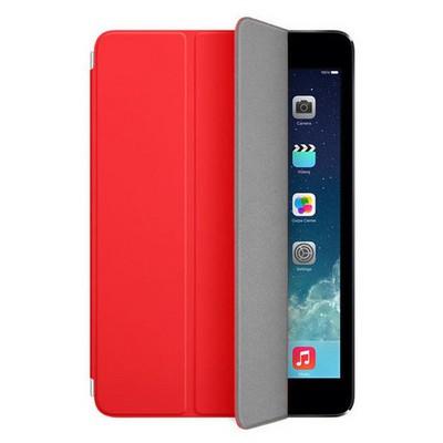 Microsonic Akıllı Uyku Modlu Smart Cover Ipad Mini 3 Kılıf Kırmızı Tablet Kılıfı