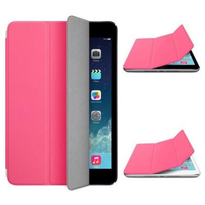 Microsonic Akıllı Uyku Modlu Smart Cover Ipad Mini 3 Kılıf Pembe Tablet Kılıfı