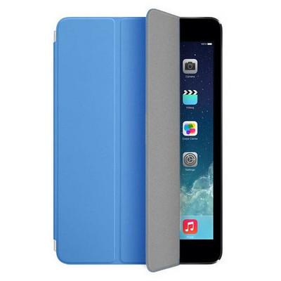 Microsonic Akıllı Uyku Modlu Smart Cover Ipad Mini 3 Kılıf Mavi Tablet Kılıfı