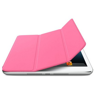 Microsonic Ipad Mini 3 Smart Case + Arka Koruma 2in1 Kılıf Pembe Tablet Kılıfı
