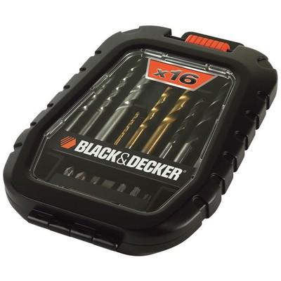Black & Decker A7186 16 Parça Delme Ve Vidalama Uç Seti Hırdavat Ürünü
