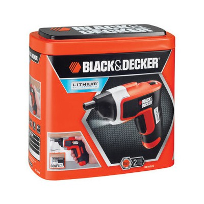 Black & Decker Kc460ln 3.6volt/1,1 Ah Li-ion Şarjlı Tornavida Akülü Vidalama