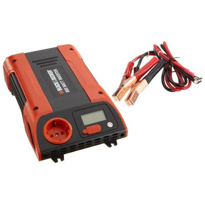 Black & Decker BDPC750 800Watt 12-220Volt Dönüştürücü İnvertör Akü Şarj Cihazı