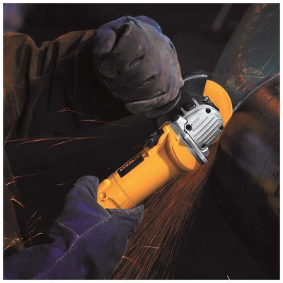 Dewalt D28136 1500watt 125mm Devir Ayarlı Profesyonel Avuç Taşlama