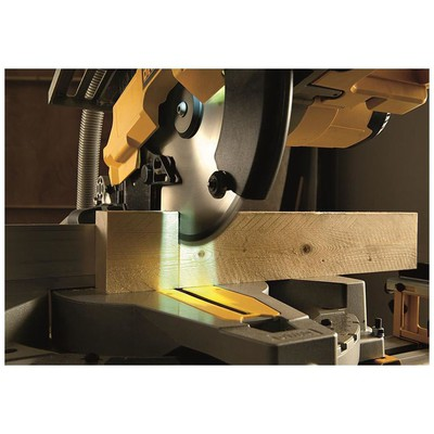 Dewalt D27113 1600watt 305mm Profesyonel Çift Yüzeyli Gönye Testere Tezgah Üstü Makine