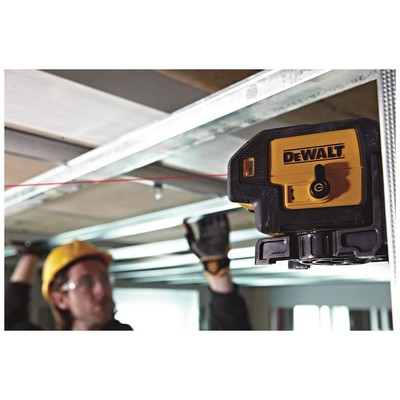Dewalt Dw085k Profesyonel 5 Işınlı Otomatik Hizalamalı Nokta Lazer Distomat