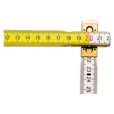 Stanley St035458 Kırma Metre, 2mx17mm Ahsap Şerit Metre