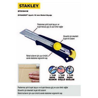 Stanley St010418  165x18mm Maket Bıçağı