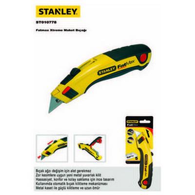 Stanley St010778  Ayarlı  Fatmax Maket Bıçağı