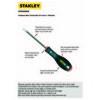 Stanley ST065098 Düz  5.5X100mm Tornavida