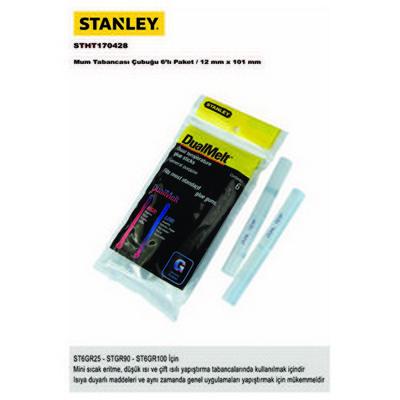 Stanley Stht170428 Mum Tabancası Çubuğu, 6´´lı Paket,12x101mm Isı Tabancası