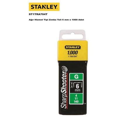 Stanley St1tra704t Zımba Teli, 6mmx1000 Zımba / Perçin