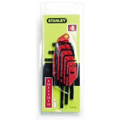 Stanley St069251 Allen , 8 Parça Anahtar Takımı