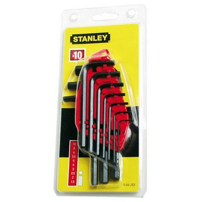 Stanley St069253 Allen , 10 Parça Anahtar Takımı