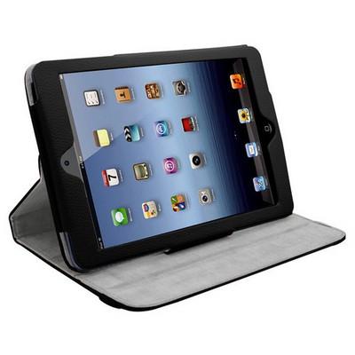 Microsonic 360 Rotating Stand Deri Ipad Mini 3 Kılıf Siyah Tablet Kılıfı