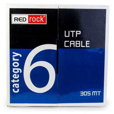 Redrock Cat6, 305 Metre, 23 Awg 0.57mm Utp Kablo Network Kablosu