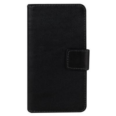 Microsonic Cüzdanlı Deri Sony Xperia Z3 Compact (z3 Mini) Kılıf Siyah Cep Telefonu Kılıfı