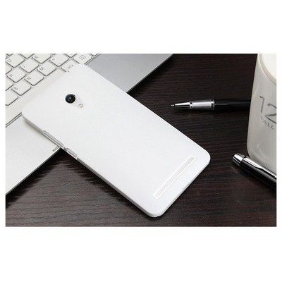 Microsonic Premium Slim Asus Zenfone 6 Kılıf Beyaz Cep Telefonu Kılıfı