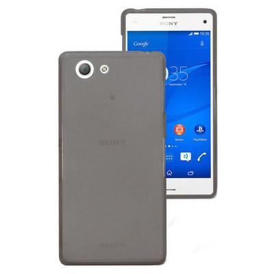 Microsonic Transparent Soft Sony Xperia Z3 Compact ( Z3 Mini) Kılıf Siyah Cep Telefonu Kılıfı