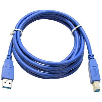 Flaxes FPR-305 5 Metre USB 3.0 Yazıcı Kablosu (Am-Bm) Yazıcı Kabloları