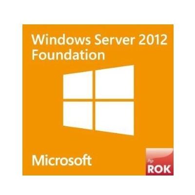 HP Ms Ws12 R2 Fndn Rok En/nl/sv/pt/tr Sw Sunucu Yazılımı