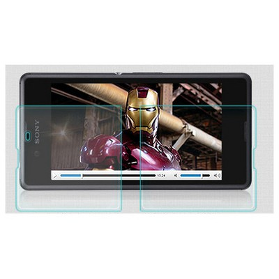 Microsonic Temperli Cam Ekran Koruyucu Sony Xperia E3 Film Ekran Koruyucu Film