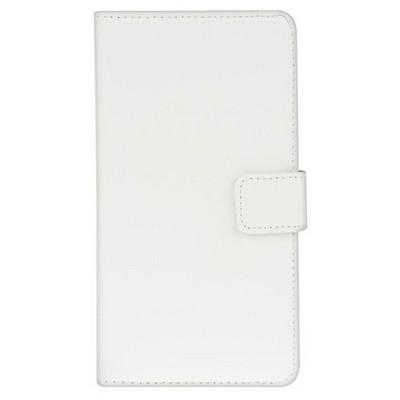 Microsonic Cüzdanlı Deri Lg G3 S (g3 Mini, G3 Beat) Kılıf Beyaz Cep Telefonu Kılıfı