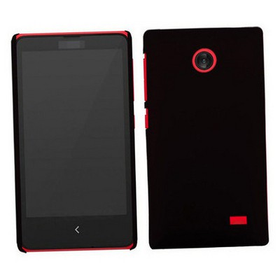 Microsonic Premium Slim Nokia X Kılıf Siyah Cep Telefonu Kılıfı