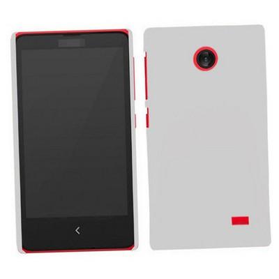 Microsonic Premium Slim Nokia X Kılıf Beyaz Cep Telefonu Kılıfı