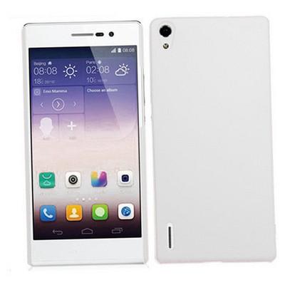 Microsonic Premium Slim Huawei Ascend P7 Kılıf Beyaz Cep Telefonu Kılıfı