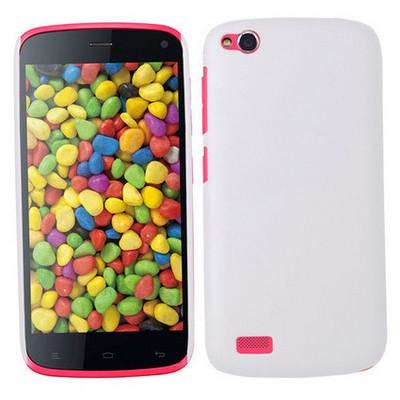 Microsonic Premium Slim General Mobile Discovery Kılıf Beyaz Cep Telefonu Kılıfı