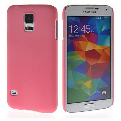 Microsonic Premium Slim Samsung Galaxy S5 Kılıf Pembe Cep Telefonu Kılıfı