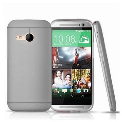 Microsonic Transparent Soft Htc One Mini 2 (m8 Mini) Kılıf Siyah Cep Telefonu Kılıfı