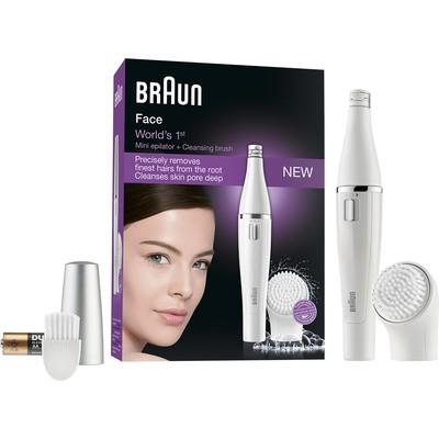 Braun SE810 Face Yüz Epilatörü ve Temizleme Fırçası