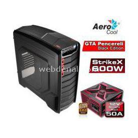 Aerocool Ae-gtbe600 600w 80plus Usb3.0 Pencereli Gaming Siyah Kasa