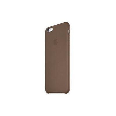 Apple Iphone 6 Plus Için Deri Kılıf - Koyu Kahve Cep Telefonu Kılıfı