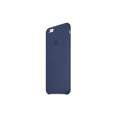 Apple Iphone 6 Plus Için Deri Kılıf - Gece Mavisi Cep Telefonu Kılıfı