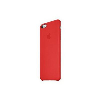 Apple Iphone 6 Plus Için Deri Kılıf - Kırmızı Cep Telefonu Kılıfı