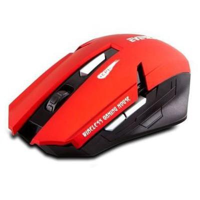 Everest KM-240 Kablosuz Mouse - Kırmızı