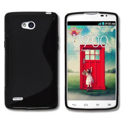 Microsonic S-line Soft Samsung Lg L80 Kılıf Siyah Cep Telefonu Kılıfı