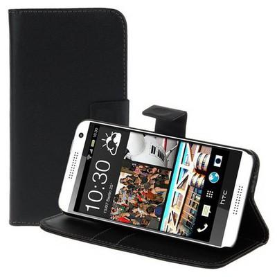 Microsonic Cüzdanlı Deri Htc Desire 610 Kılıf Siyah Cep Telefonu Kılıfı
