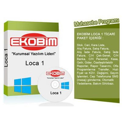 Ekobim Muhasebe Programı Eğitim Destek (lc01) Ofis Yazılımı