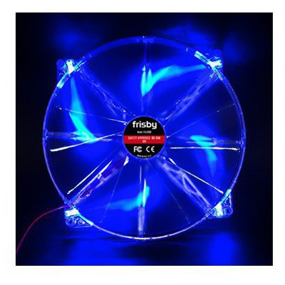 Frisby FCL-F200C 20cm  4-Led Blue Fan