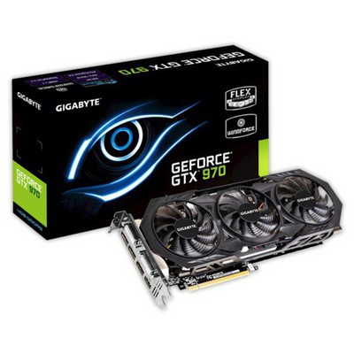 Gigabyte GeForce GTX 970 Windforce 3x 4G Ekran Kartı