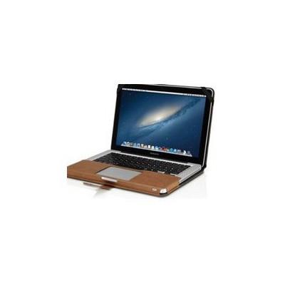 Decoded Deri 13''mb Pro Kapaklı Kılıf -kahverengi Laptop Çantası